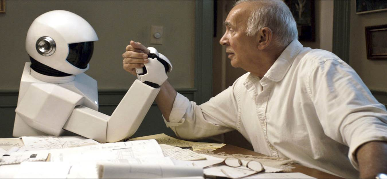 Robot and Frank, Robot Arm Wrestling